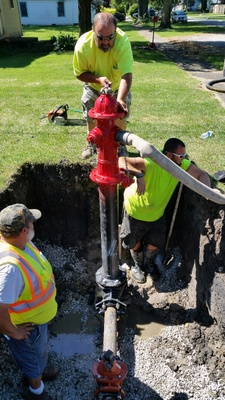 Hydrant Installation